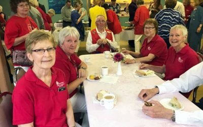 Chemainus Health Care Auxiliary Honour Grace Reay's Service