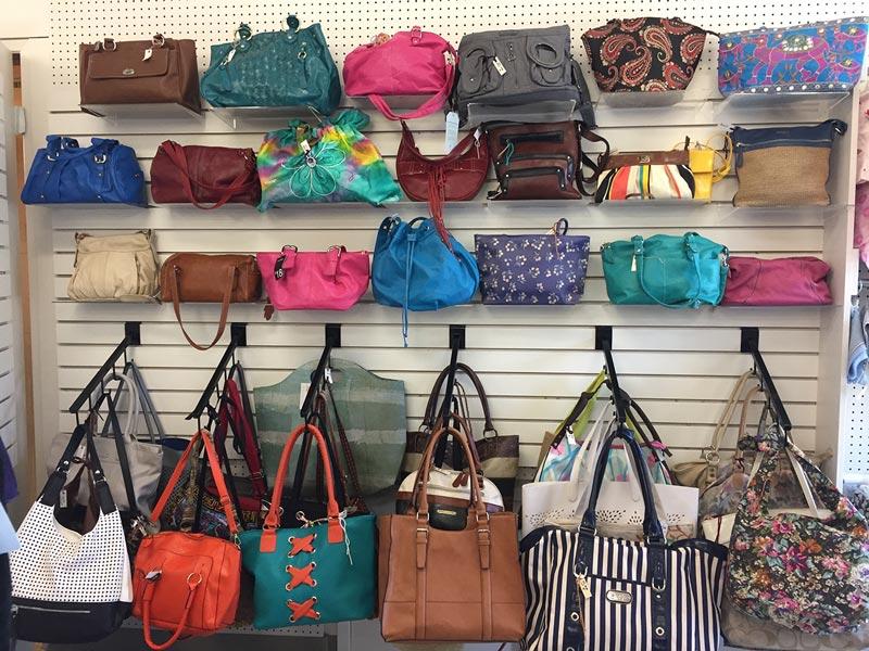 Thrift Store Handbags