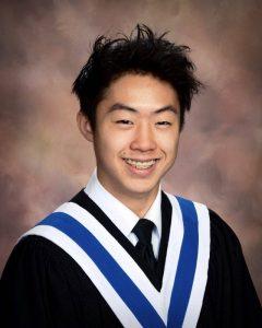 Steven Wong $5000 bursary recipient