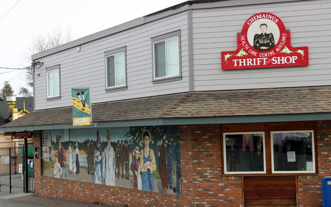 Chemainus Health Care Auxiliary Thrift Shop will be reopening July 2