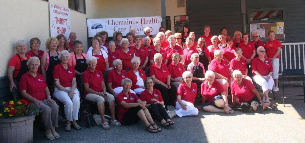 Chemainus Health Care Auxiliary Volunteers