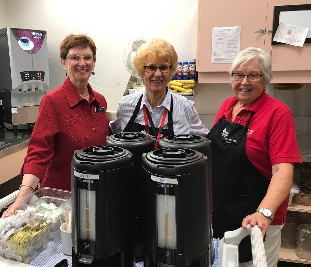 Chemainus Health Care Auxiliary Tea Servers