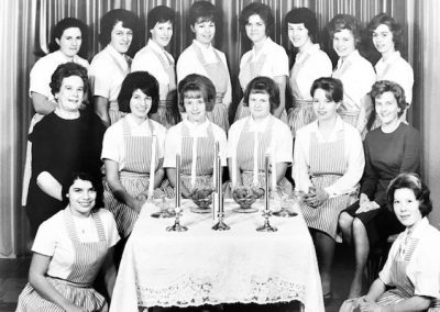 Chemainus Health Care Auxiliary Candy Stripers 1960s